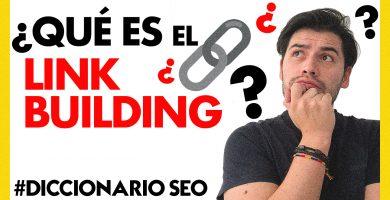 QUE ES EL LINK BUILDING | SOY ALONSO