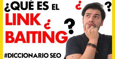 Qué es el Link Baiting o Cebo de Enlaces | SOY ALONSO