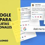 Google crea las tarjetas personales virtuales para los emprendedores, autónomos y artistas